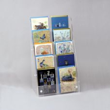 Tall 5 Tier Card Display -  Counter/ Wall